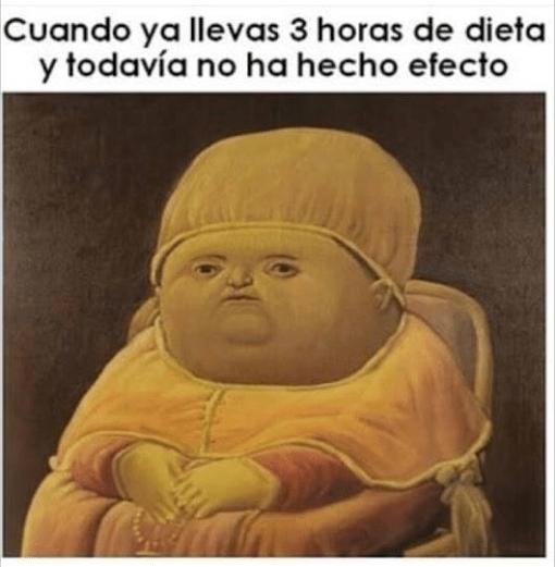 dieta meme