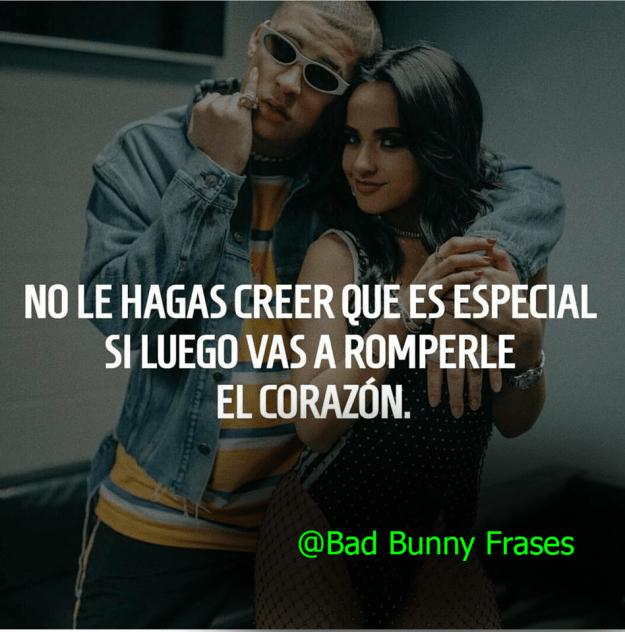 Frases de Bad Bunny de Amor y Tristeza Nuevas Para Instagram