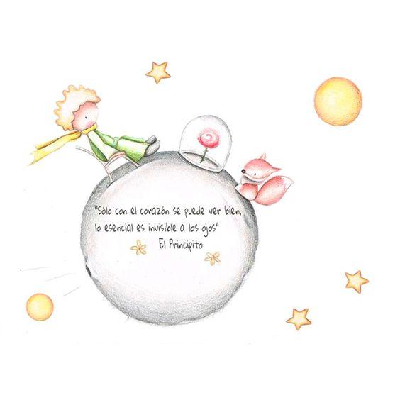 Frases del Principito de Amistad, el Zorro y la Rosa
