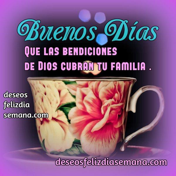 Imágenes Buenos días bendiciones
