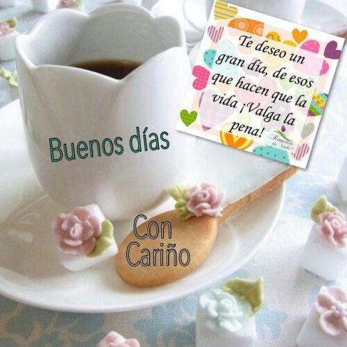 Imágenes de Buenos Días con Frases Lindas Nuevas
