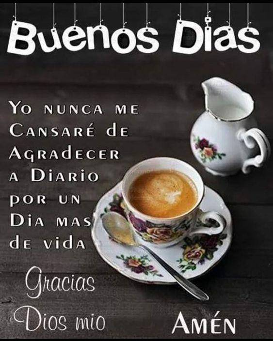 Imágenes con Frases de Buenos Días Feliz Domingo