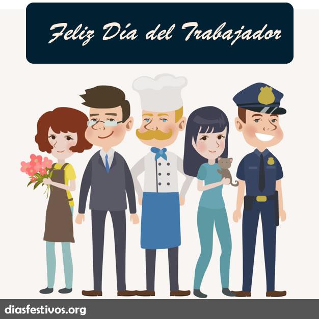 Imágenes con Frases de Feliz Día del Trabajador 1 de Mayo