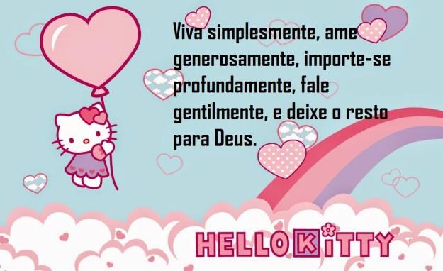 Imágenes De Hello Kitty Con Frases De Amor Bonitas