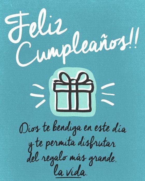 Tarjetas Bonitas de Feliz Cumpleaños Con Frases Nuevas