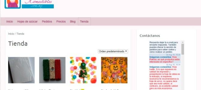 Visita nuestra tienda en línea www.imagenescomestibles.com.mx