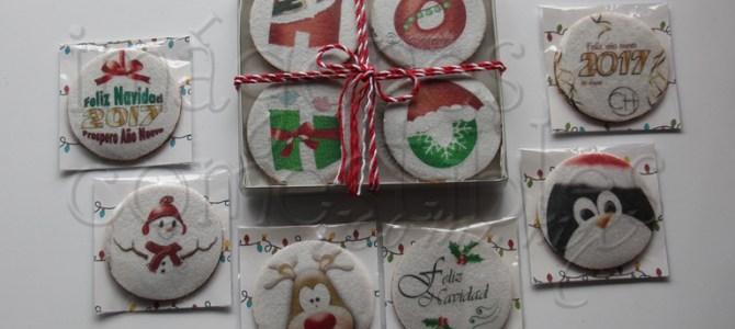 Obleas navideñas con imagen comestible navideñas