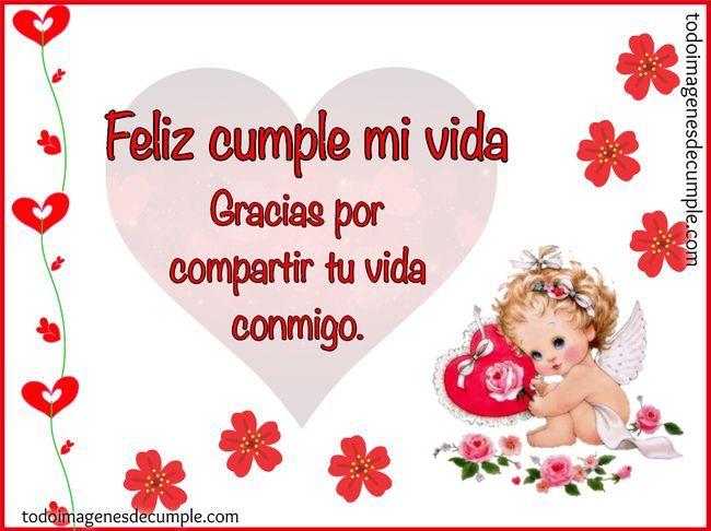 Feliz cumpleaños amor