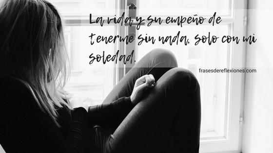 Imágenes de Tristeza de Amor y Soledad con Frases