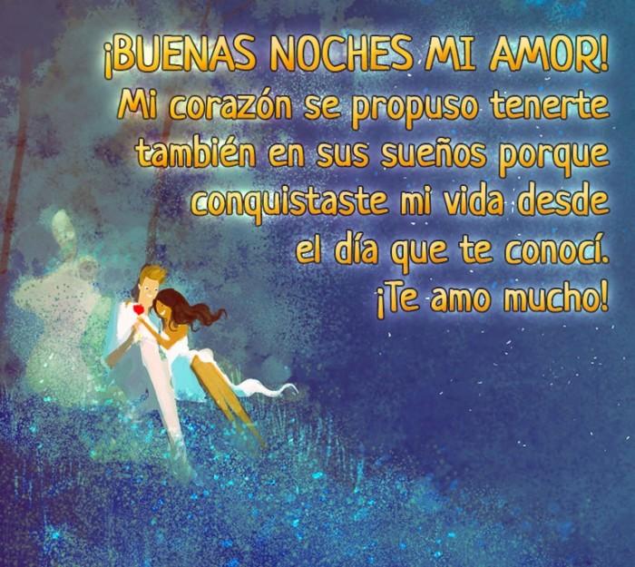 Mensajes de Buenas Noches con Frases Románticas