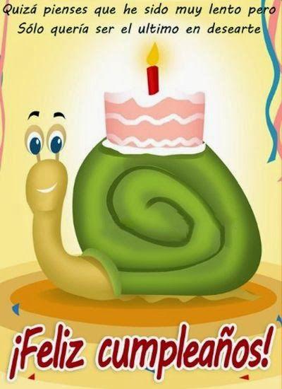Tarjetas Feliz Cumpleaños Atrasado