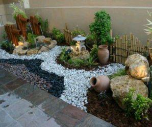 Imagenes De Jardines Pequeños Con Piedras