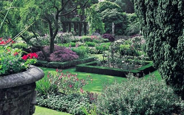 Mount Stewart, N. Ireland jardines mal lindos del mundo