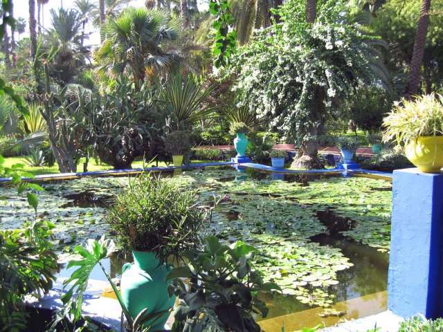 The Majorelle Garden, Morocco jardines del mundo