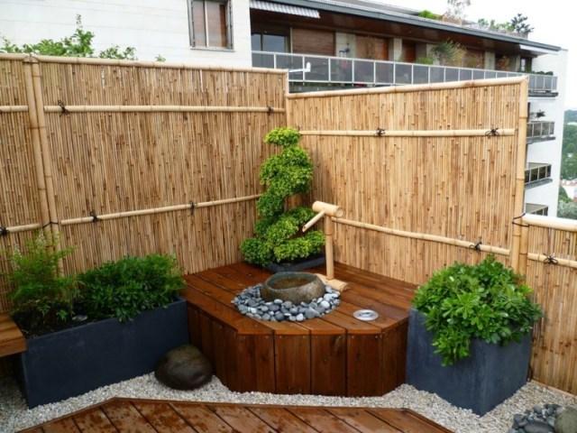Ideas de fuentes para jardines pequeños