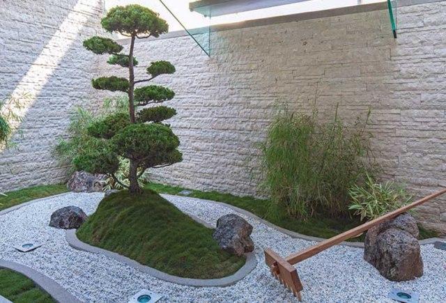 Imagen jardin zen pequeño