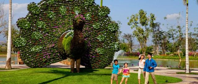 Imagenes Del jardin mas grande del mundo
