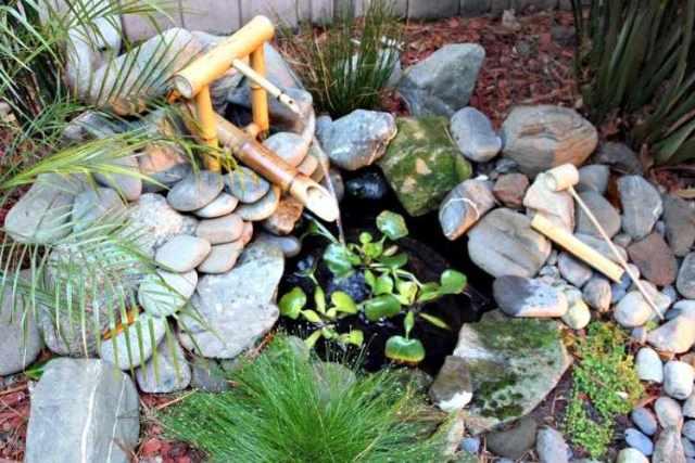 Imagenes con fuentes de agua para jardines pequeños