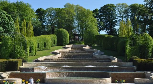 Jardín de Alnwick, Northumberland