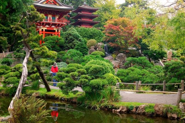 Jardín de té japonés, Golden Gate Park - San Francisco, CA