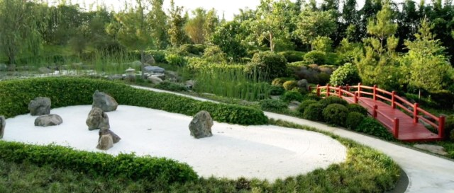 Jardin japones jardines de Mexico