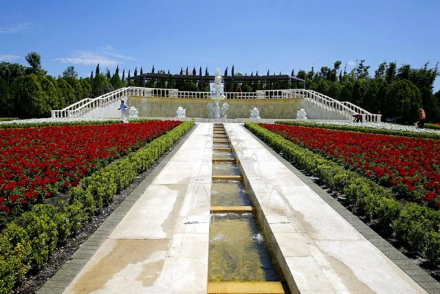 Jardines de mexico Jardin Italiano