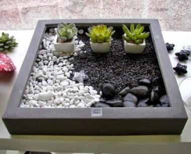 Foto jardin zen portatil