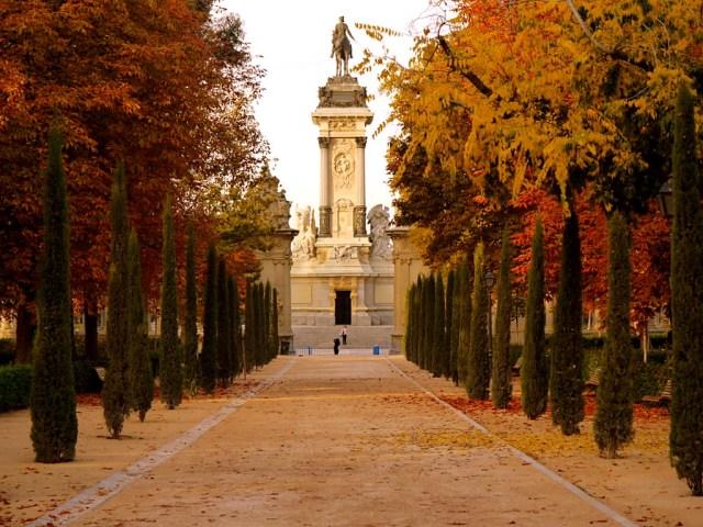Fotos del Parque del Retiro Madrid España