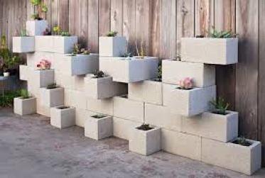 Imagen jardin vertical reciclado