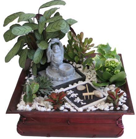 Imagenes Decoracion con un jardin zen miniatura