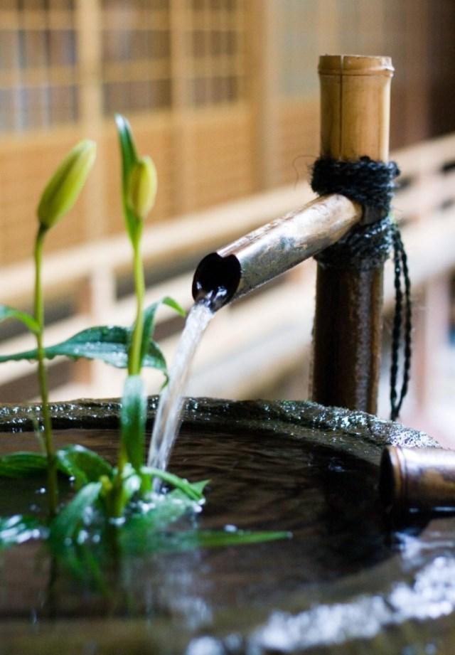 Imagenes con ideas de decoración zen con bambú
