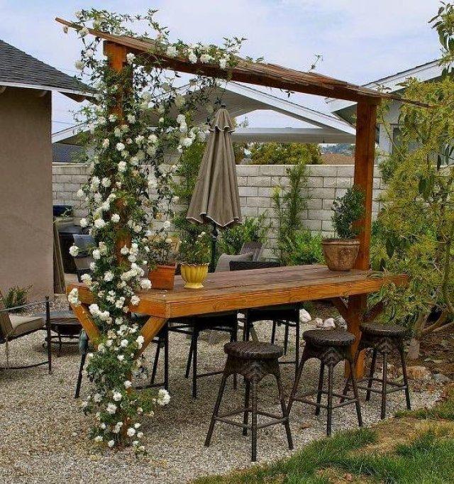 Imagenes de muebles rusticos para decorar el jardin
