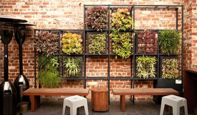 Imagenes diseño y decoracion con jardin vertical en tu hogar
