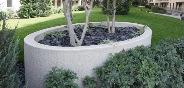 Imagenes ideas jardineras de piedra