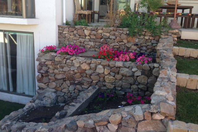 Imagenes jardineras de piedras