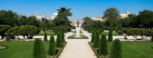 Jardin de España -Parque-del-Retiro-Madrid
