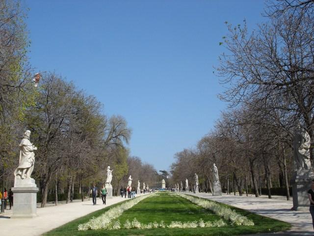 Paseo de la Argentina Parque Del Retiro