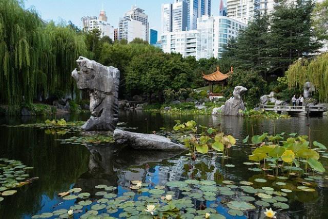 foto del jardin chino de la amistad ubicado en Sidney