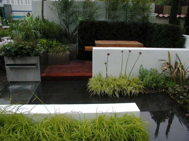 Jardines modernos fotos
