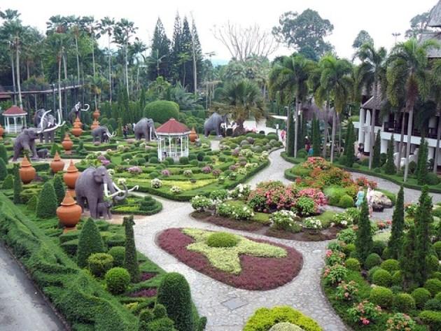 Fotos del Suan-Nong-Nooch Jardin Tropical