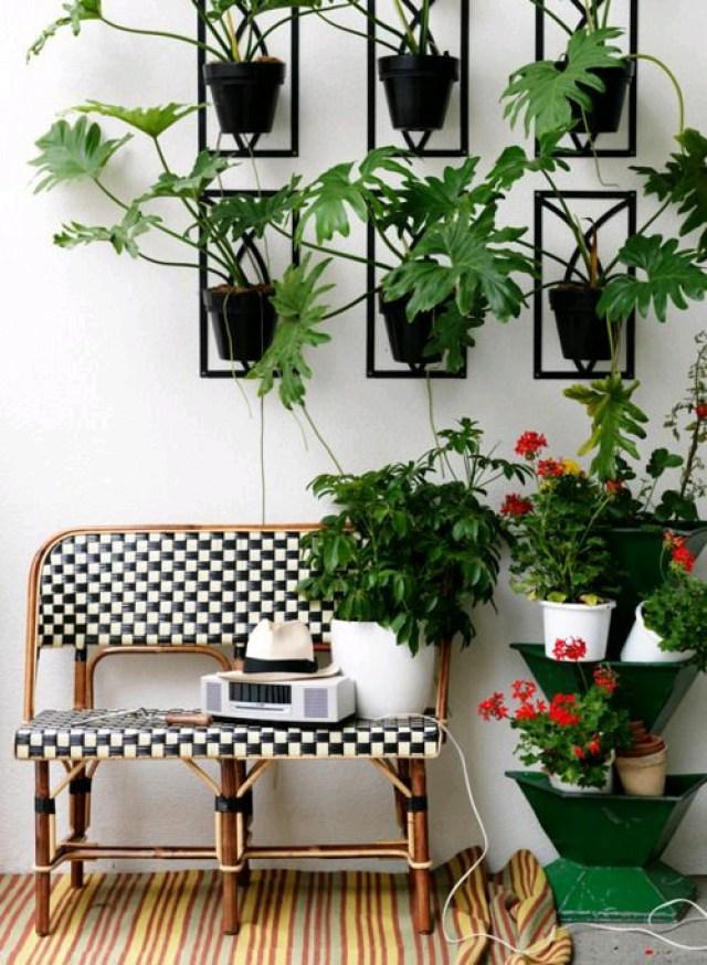 Ideas jardines verticales para interiores