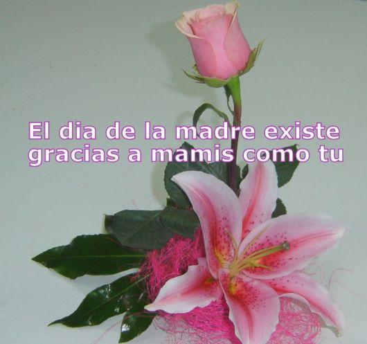 Imagenes De Flores Con Frases Para El Dia De La Madre