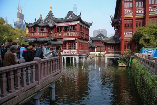 Imagenes Jardin Chino Yuyuan en Shanghai