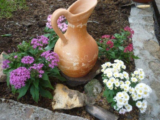 Imagenes con decoraciones para el jardin de flores