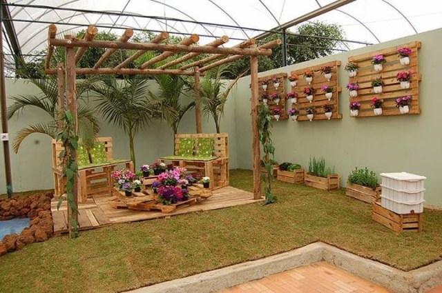 Imagenes de Ideas de espacios para descansar en el jardin