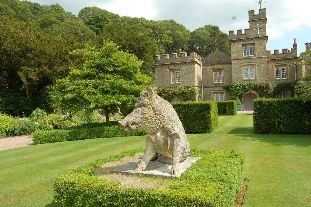 Imagenes del Jardin Gresgarth Hall Esculturas