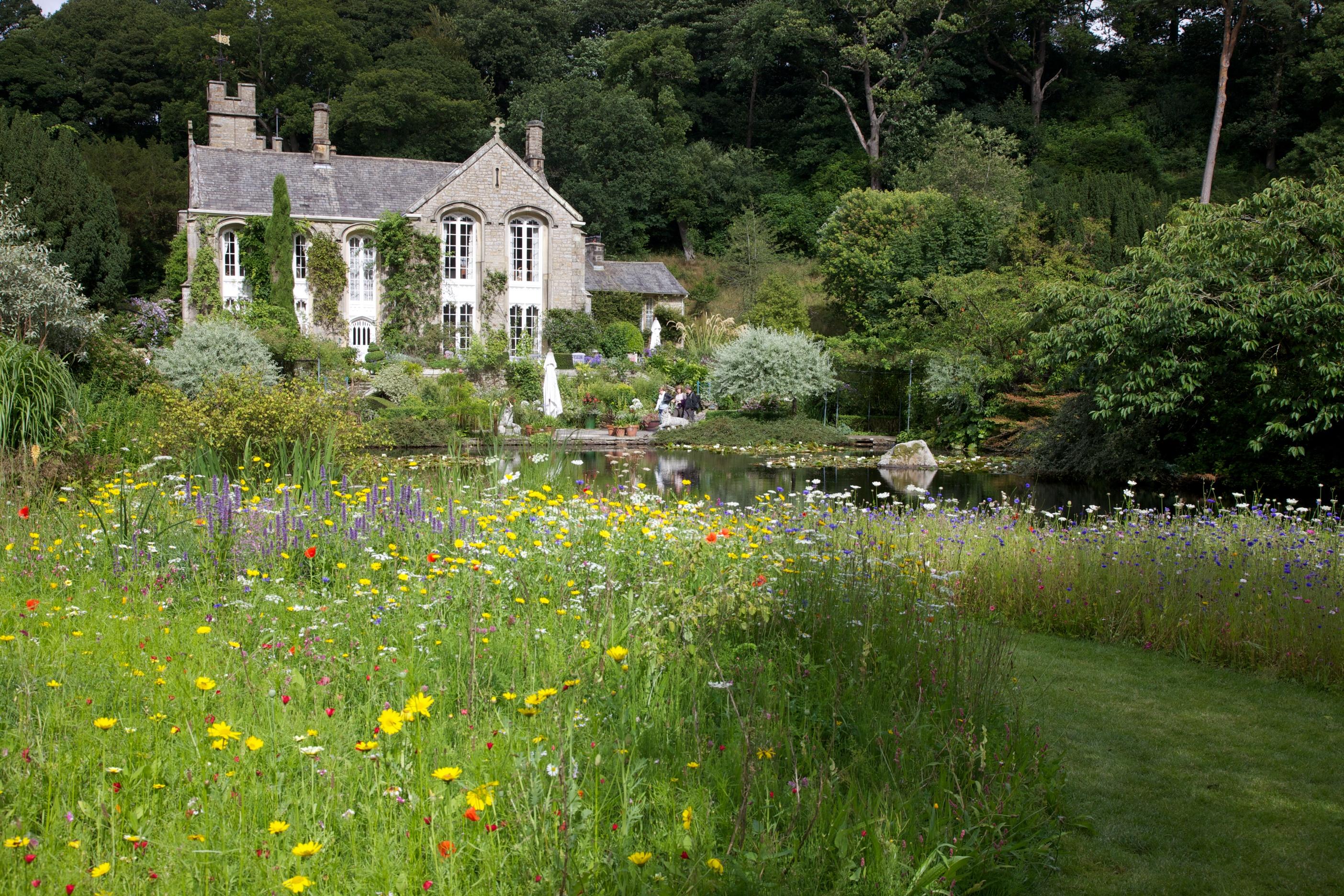 Imagenes del jardin gresgarth hall for Imagenes jardines