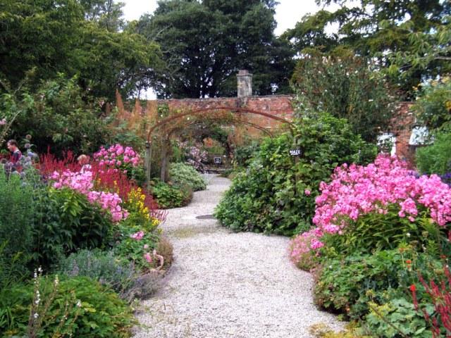 Imagenes del Jardin flores Gresgarth Hall