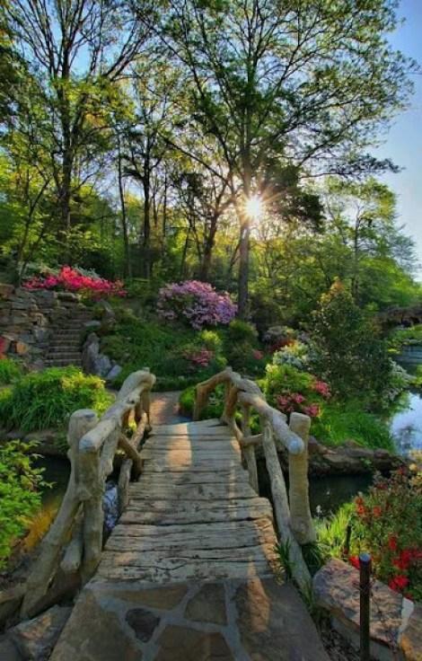 Lindas imagenes de jardines para el movil