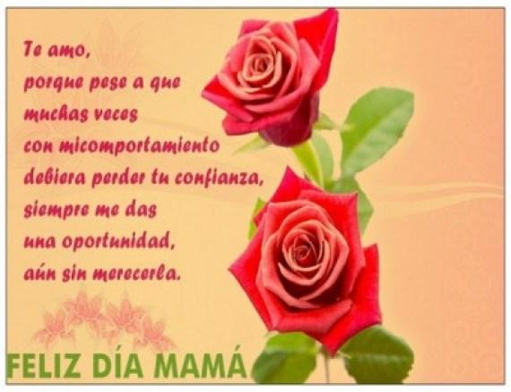 Mensajes Para El Dia De La Madre Con Imagenes De Rosas